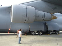 C-5 Galaxy Royalty Free Stock Images