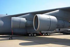 C-5A Galaxie-Triebwerksgondeln Lizenzfreie Stockfotos