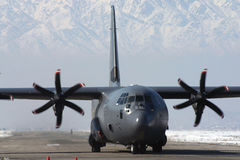 C -130 Photographie stock