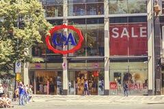 C&A商店外部标志 图库摄影