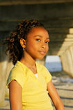 C - African-American Girl 13 Stock Images