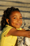 C - African-American Girl 16 Stock Images