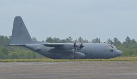 C-130 Airplane Royalty Free Stock Photography