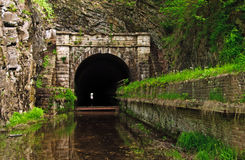 C&O Kanal-Tatze-Tatze-Tunnel Stockbilder