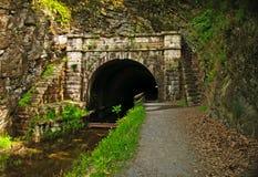 C&O Kanal-Tatze-Tatze-Tunnel stockfotos