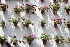 $c-andalusisch terras Stock Afbeeldingen