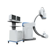 C Arm X-Ray Machine Scanner Stock Photo