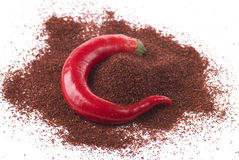 C As In Chili Royalty Free Stock Photo