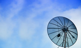 C-Band Satellite Dish Stock Photo