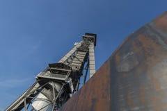 C-Bergwerk in Genk, Belgien Stockbild