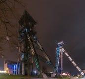 C-Bergwerk, Steenkoolmijn van Winterslag stockfotos