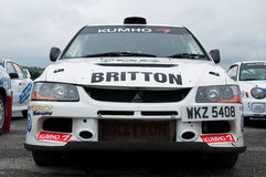 C. Britton Mitsubishi Evo Royalty Free Stock Photos