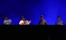 C2C του γαλλικού πληρώματος του DJ Στοκ εικόνες με δικαίωμα ελεύθερης χρήσης