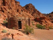 C.C.C. Sandstone Cabins Stock Photo