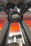 C.C commémoratif de la deuxième guerre mondiale image libre de droits