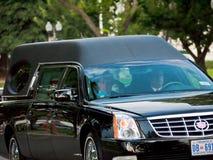 C.C de cercueil du sénateur Ted Kennneys Images stock