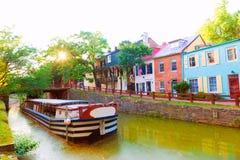 C.C de parc national de canal de chesapeake et de l'Ohio Photographie stock
