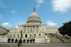 C.C. del capitolio de Washington Fotografía de archivo