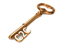 C2C - Golden Key. Stock Images