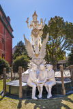 C.C. hindu de Dewi Saraswati Indonesian Embassy Washington da deusa fotos de stock royalty free