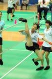 C.C. Zhi in actie Stock Foto