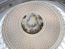 c-capitol D rotunda washington Arkivbilder