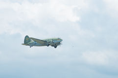 C-46 Commando the Tinker Belle Gathering of Eagles Airshow Royalty Free Stock Photography