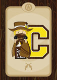 C is for Cowboy Royalty Free Stock Photos