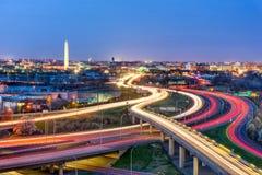 c d华盛顿 C 地平线 免版税库存图片