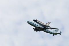 c d发现航天飞机空间华盛顿 库存照片