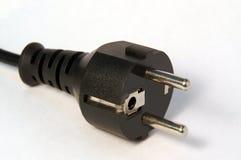 C.A. do plugue 230V Fotografia de Stock