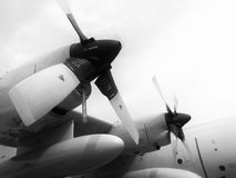 C-130 engine. Royalty Free Stock Photos