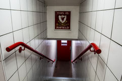C'est Anfield Image stock
