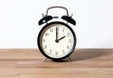 C'est horloge de ` de deux o Photo stock