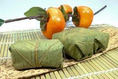 C'est le sushi de feuille du kaki Photo stock