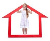 C'est ma maison neuve Image stock