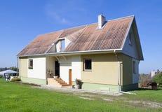 C'est ma maison rurale normale Photographie stock