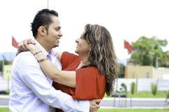 C'est un couple heureux Image libre de droits