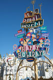 C'est un petit monde chez Disneyland Image stock