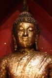 C'est une belle image d'or de Bouddha, foi dans le bouddhisme images stock