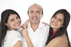 C'est une famille heureuse Photo stock