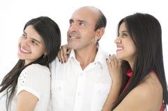 C'est une famille heureuse Image libre de droits