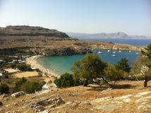 Vues de la Grèce Image libre de droits