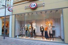 C-And-A fashion store Stock Photography
