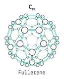 C60 fullerene molecule Stock Image