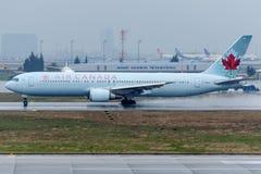 C-FXCA Air Canada, Boeing 767-375/ER Royalty Free Stock Photos