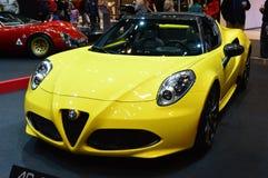 4C giallo Spyder Immagine Stock