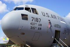 C-17 GLOBEMASTER军用飞机 库存照片