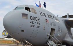 C-17 Globemaster货机 库存照片