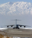 C - 17个GLOBEMASTER 库存照片